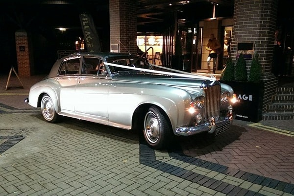 The Bentley S3 attending an evening wedding function