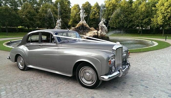 Bentley S3 at Cliveden House, Taplow