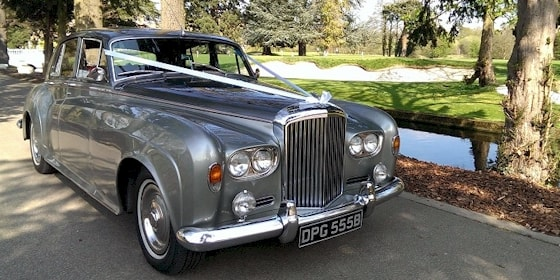1964 Bentley S3 in Silver and Grey