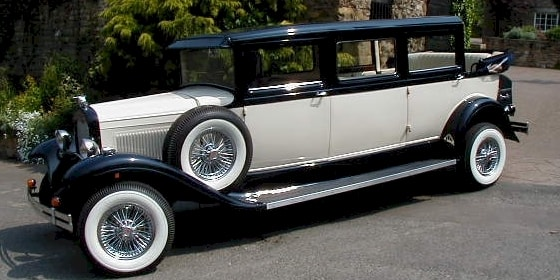Bramwith 7 seat vintage style Limousine
